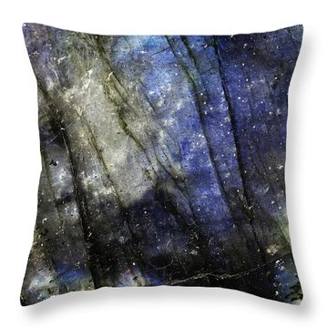 Earth Portrait 001-69 Throw Pillow