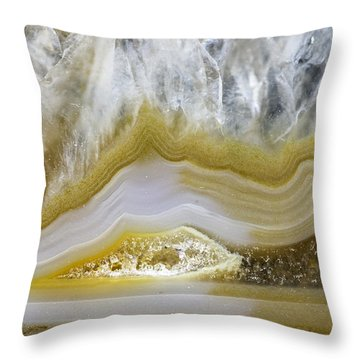 Earth Portrait 006 Throw Pillow