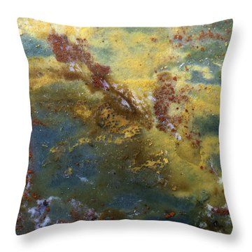 Earth Portrait 008 Throw Pillow