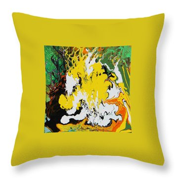 Earth Throw Pillow by Ralph White