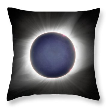 Earth-shine Throw Pillow
