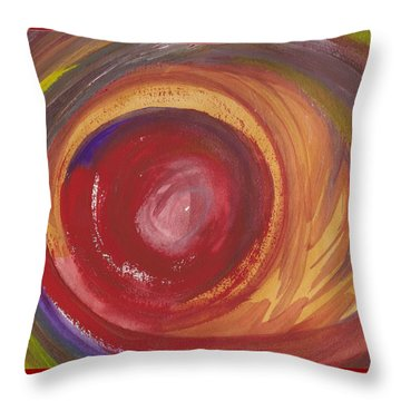 Earth Storm  Throw Pillow