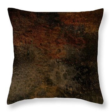 Earth Texture 1 Throw Pillow