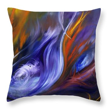 Earth, Wind And Fire Throw Pillow