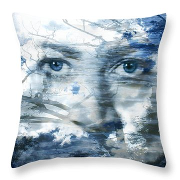 Earth Wind Water Throw Pillow