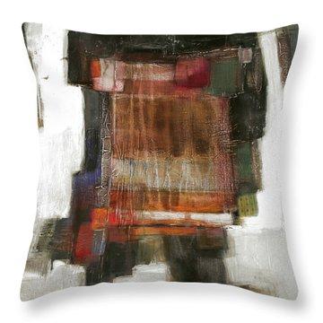 Orange Home Throw Pillow by Behzad Sohrabi