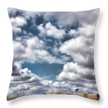 Earthbound - Live Oak Texas Throw Pillow by Wendy J St Christopher