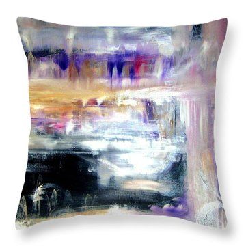 Earthen Vessel Throw Pillow by Sandy Ryan