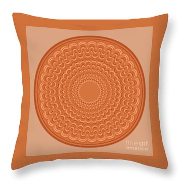 Earthenware Plate Throw Pillow