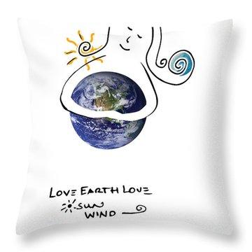 Earthhugger Throw Pillow