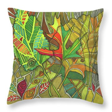 Earth's Expression Throw Pillow