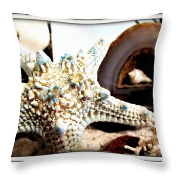 Earth's Jewels Throw Pillow