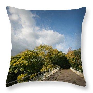 Easby Skies Throw Pillow