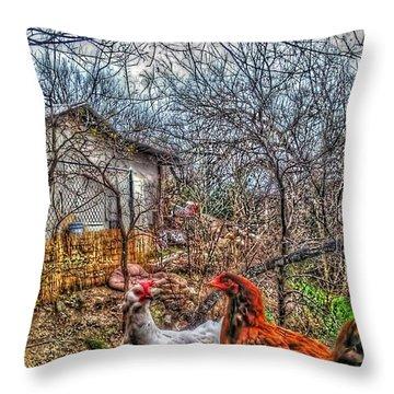 East Austin Livin Throw Pillow