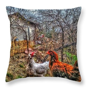 East Austin Livin Throw Pillow