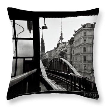 East Berlin Sound  Throw Pillow