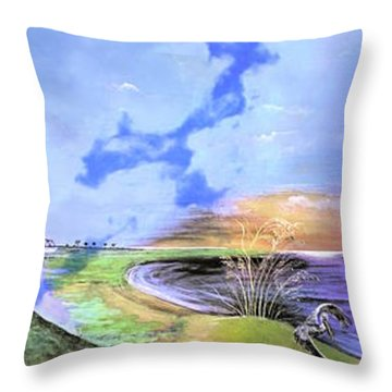 East Cooper Throw Pillow
