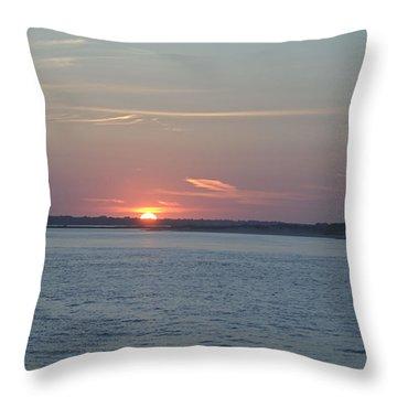 East Cut Throw Pillow
