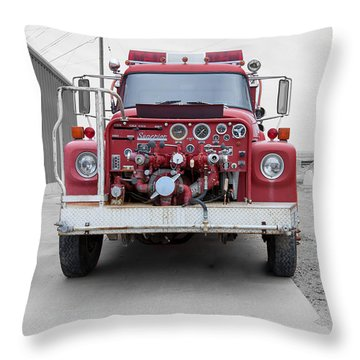 Throw Pillow featuring the photograph East Glacier No 4 by Fran Riley