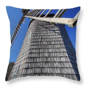 East Hampton Windmill Throw Pillow