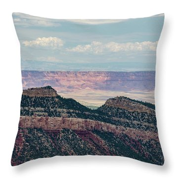 East Kaibab Monocline Throw Pillow