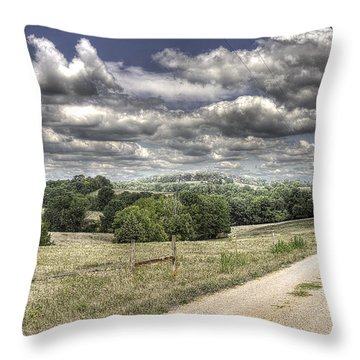 East Of Eden Throw Pillow by William Fields