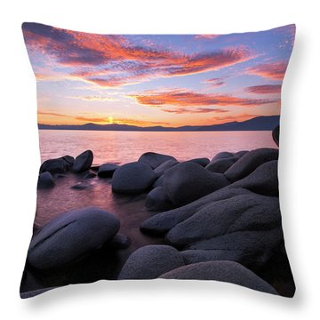 East Shore Bliss By Brad Scott Throw Pillow