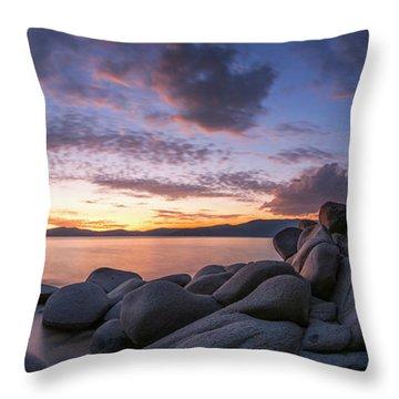 East Shore Cove Panorama By Brad Scott Throw Pillow