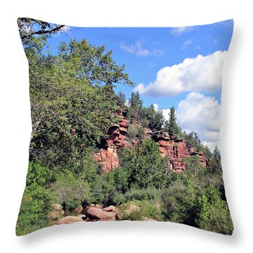 East Verde Summer Crossing Throw Pillow