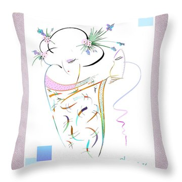 East Wind - Masquerade Throw Pillow