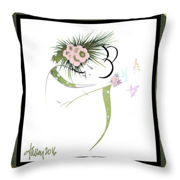 East Wind - Small Gathering 2 Throw Pillow