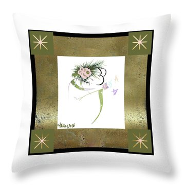 East Wind - Small Gathering Throw Pillow