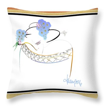 East Wind - The Rival 2 Throw Pillow