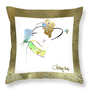 East Wind - The Rival Throw Pillow