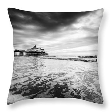 Eastbourne Pier Throw Pillow