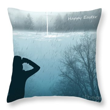 Easter 2016 Throw Pillow