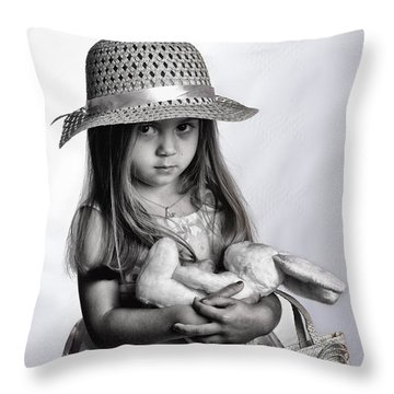 My Bunny Throw Pillow