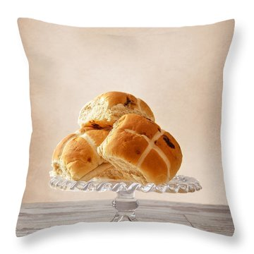 Easter Buns Throw Pillow