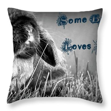 Easter Card Throw Pillow