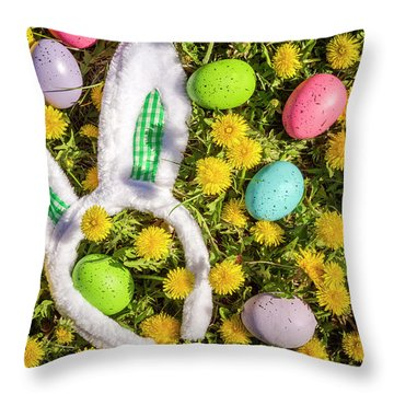 Throw Pillow featuring the photograph Easter Morning by Teri Virbickis