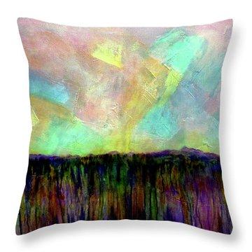 Easter Daybreak - Art By Jim Whalen Throw Pillow