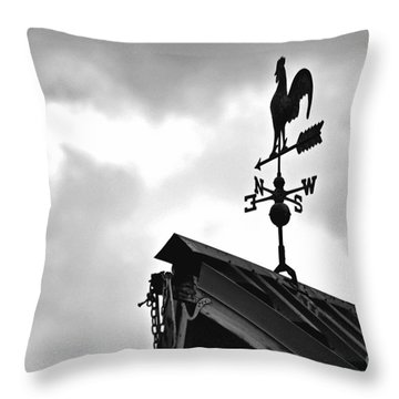 Easterly Wind  Throw Pillow