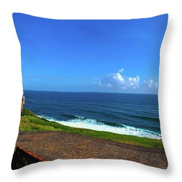 Eastern Caribbean Throw Pillow