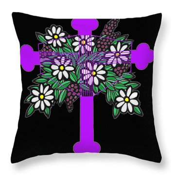 Eastern Ornate 1 Throw Pillow