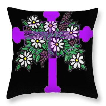 Eastern Ornate 1 Throw Pillow
