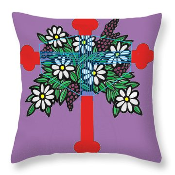 Eastern Ornate Throw Pillow