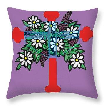 Eastern Ornate Throw Pillow