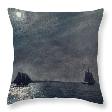 Eastern Point Light Throw Pillow