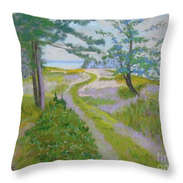 Eastern Points #1 Throw Pillow