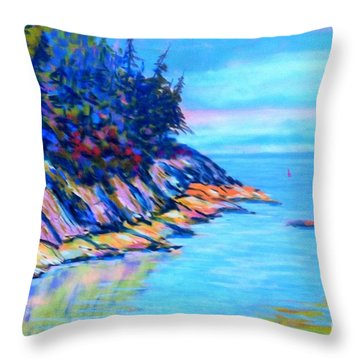 Eastern Points #3  Throw Pillow